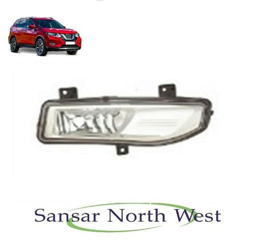 Fit's Nissan X-Trail - Drivers Side Front Fog lamp light - O/S RIGHT - 2017 >On